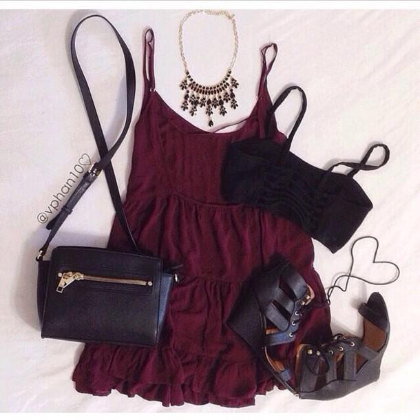 971a3efad269 cami dress cami dress style shoes short sleeve short dress short sleeved  short sleeve dress burgundy