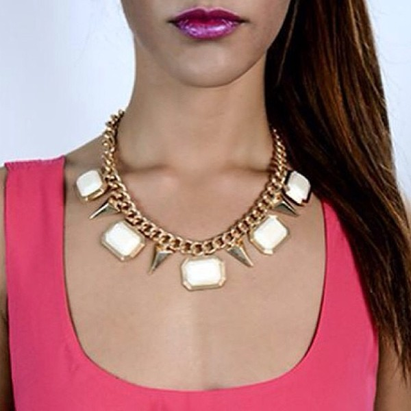 jewels blinbg bling jewelry necklace statement necklace fashion fashion blogger fblogger