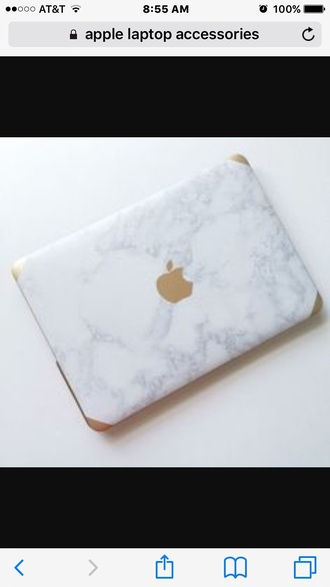 phone cover laptop white gold apple