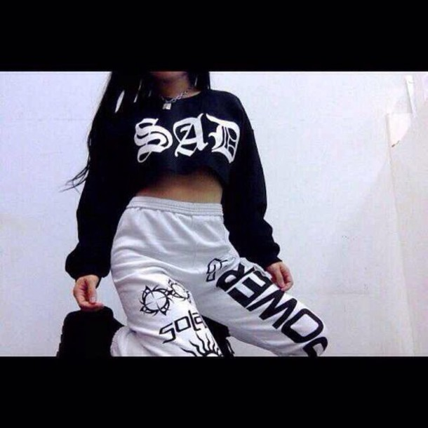 sweater sad girls club sweater pants