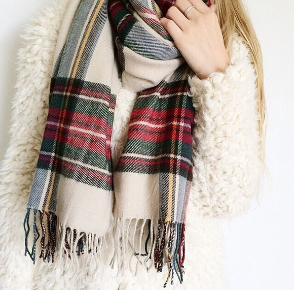 jacket scarf fall outfits