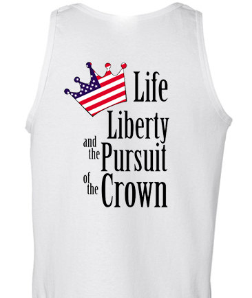 Life liberty and the pursuit of the crown inspired by sweetteesnow