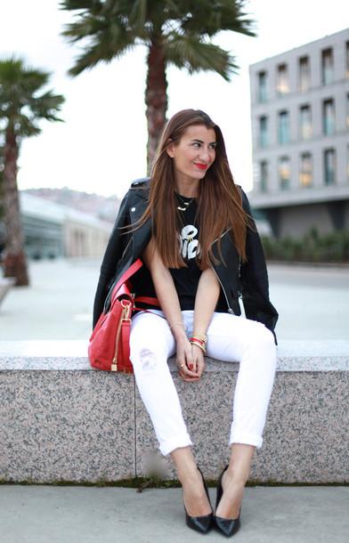 b a r t a b a c t-shirt jacket bag jewels