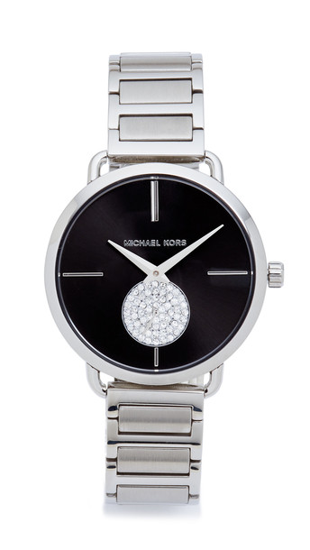 Michael Kors Partia Watch - Silver/Black
