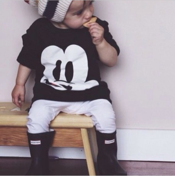 guys toddler swag baby babies beenie mickey mouse hunter boots Kids fashion Kids Fashion Fashion Kids
