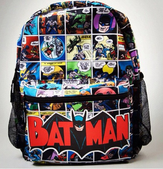 batman backpack bag hottopic