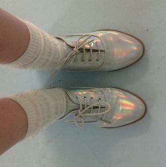 shoes tumblr pale kawaii 👽 grunge pale pale grunge tumblr shoes rainbow socks pale tumblr white dress