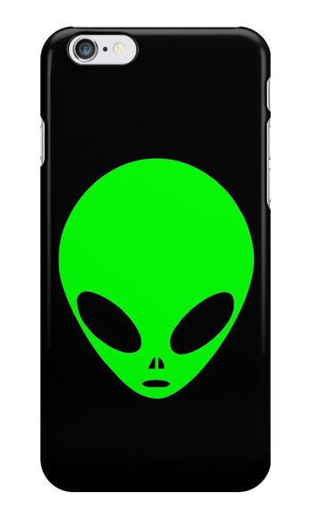 green ufo phone case iphone case