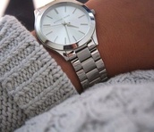 jewels,watch,silver,michael kors watch,silver watch