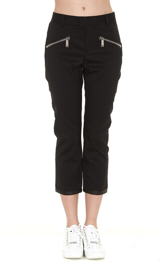 pants zip black