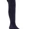 Curve navy blue suede over-the-knee boots | duoboots