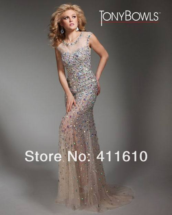 rhinestones royal evening gowns long couture prom dresses 2013