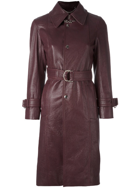 Balenciaga coat women red