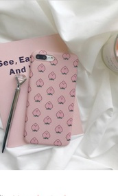 phone cover,girly,girly wishlist,pink,iphone cover,iphone case,iphone,peach