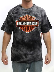 Harley Davidson Youth Tshirt Gray Tie Dye Shirt Bar Shield Logo Assorted Sizes | eBay