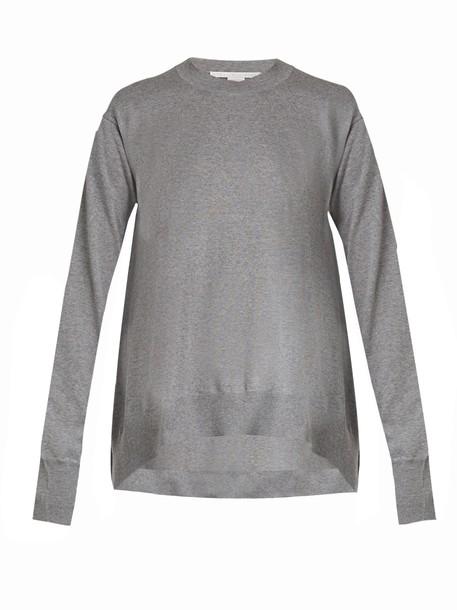Stella McCartney sweater wool sweater wool grey