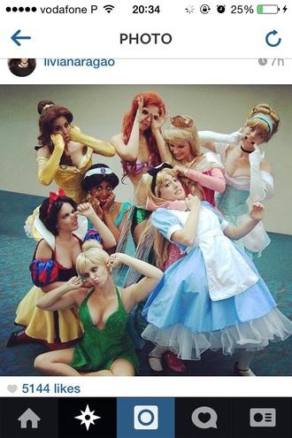 dress disney costume princesses