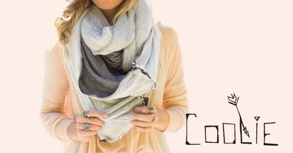 scarf infinity scarves chunky oversized