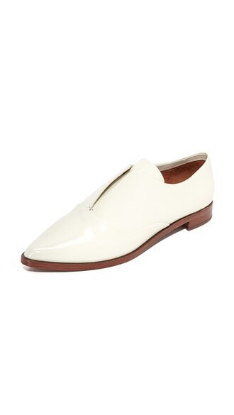 soft oxfords white shoes