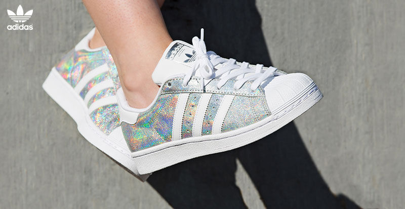 huge discount f2bd2 83f6b ... Adidas Superstar Shine Iridescent UK Sizes 4-9.5 Limited Edition