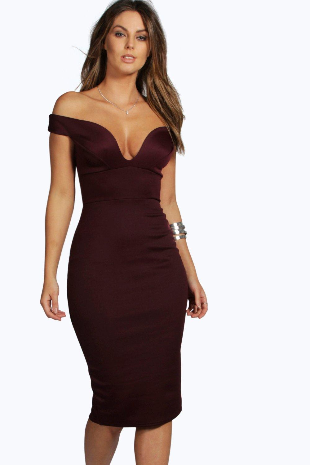 2e892c56adac Skye Sweetheart Off Shoulder Bodycon Dress