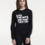 Kiss The Boys Fitted Sweatshirt |  | A QUESTION OF - Conscious Apparel