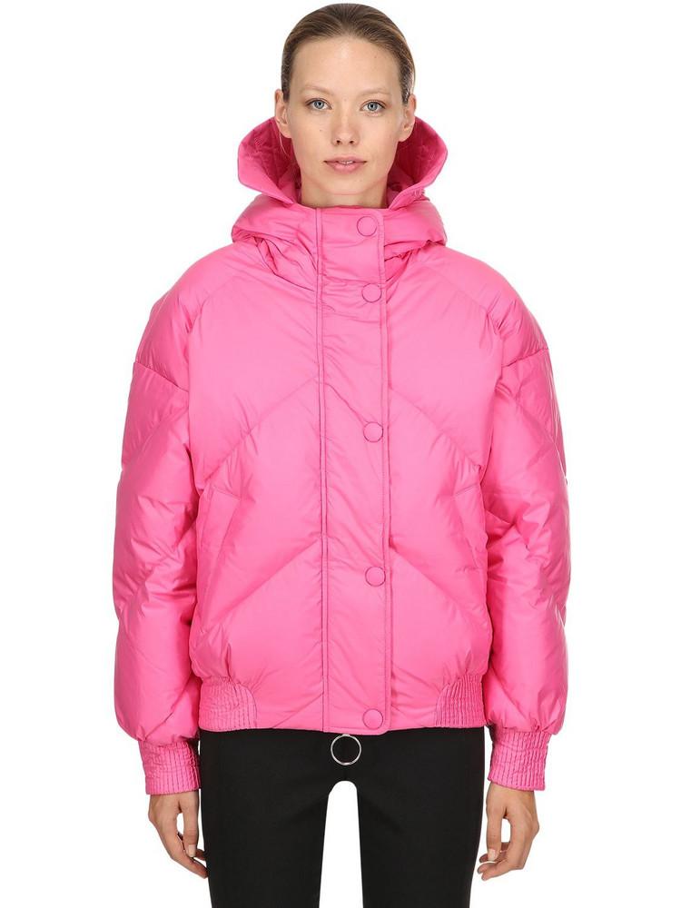 IENKI IENKI Oversized Dunlope Down Jacket in pink