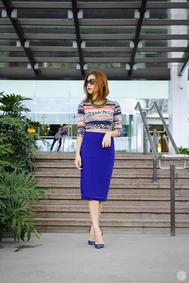 kryzuy blogger top sunglasses jewels
