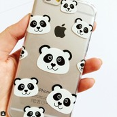 phone cover,catching rainbows,panda,iphone 7 case,iphone 7 plus case,accessories,Accessory
