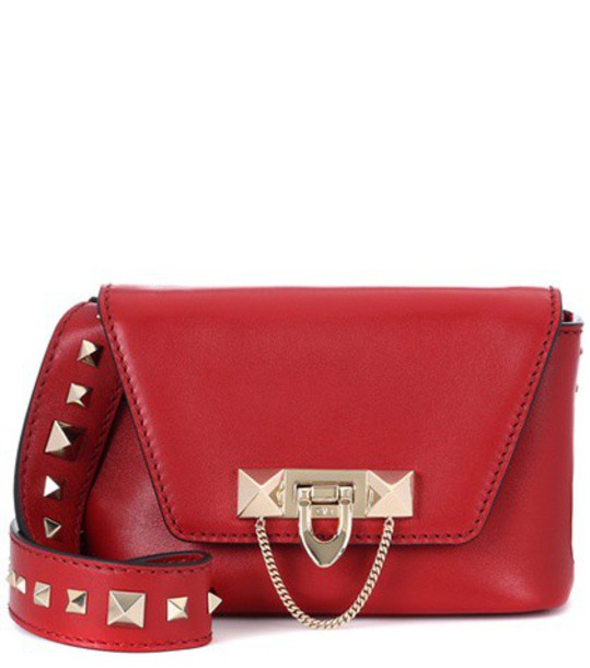 Valentino bag shoulder bag leather red