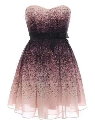 dress pink dress prom dress brown dress ombre dress perfect omg