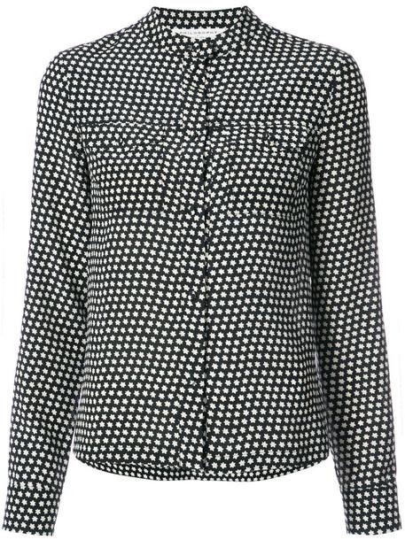 Philosophy di Lorenzo Serafini blouse women black silk top