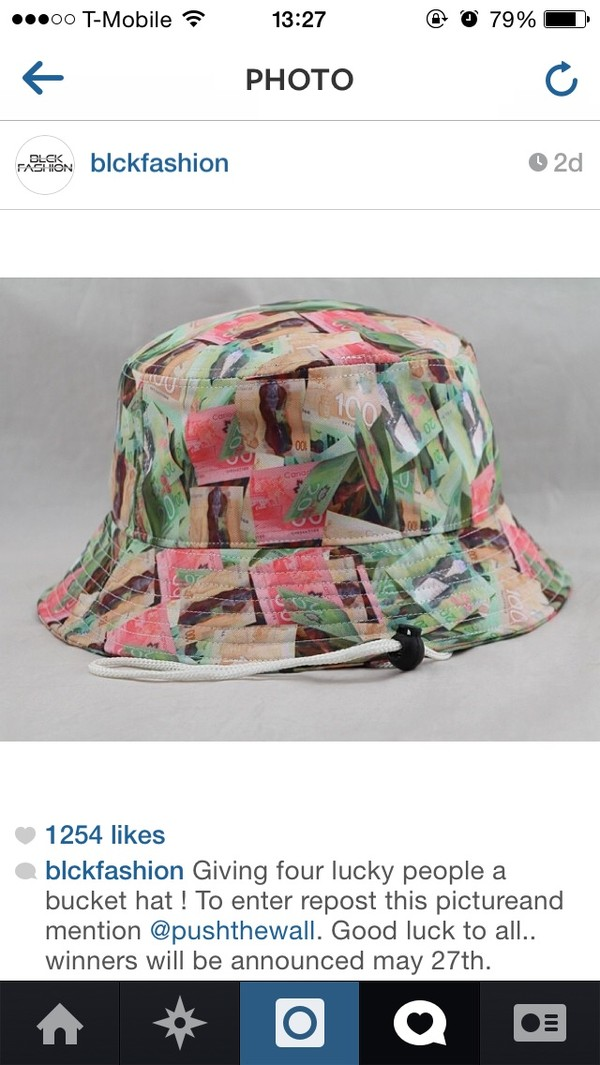 hat bucket hat currency bucket hat trap denim chinese
