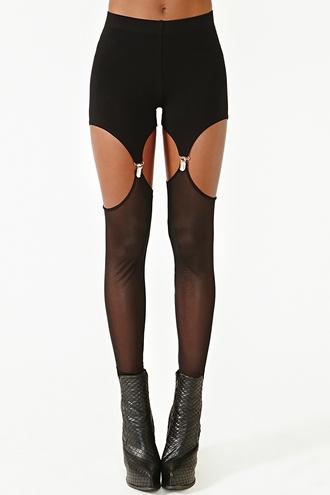 shorts garter garter shorts goth grunge soft grunge harajuku pastel goth