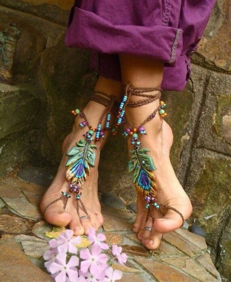 aztec boho jewels shoes native american feather feathers green accessories art creative floral hippie indie