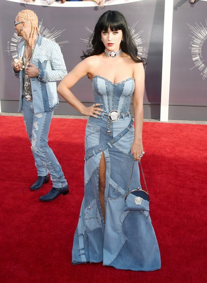 dress jeans katy perry vma