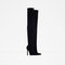 Over the knee high heel leather boots - view all - shoes - woman | zara united states