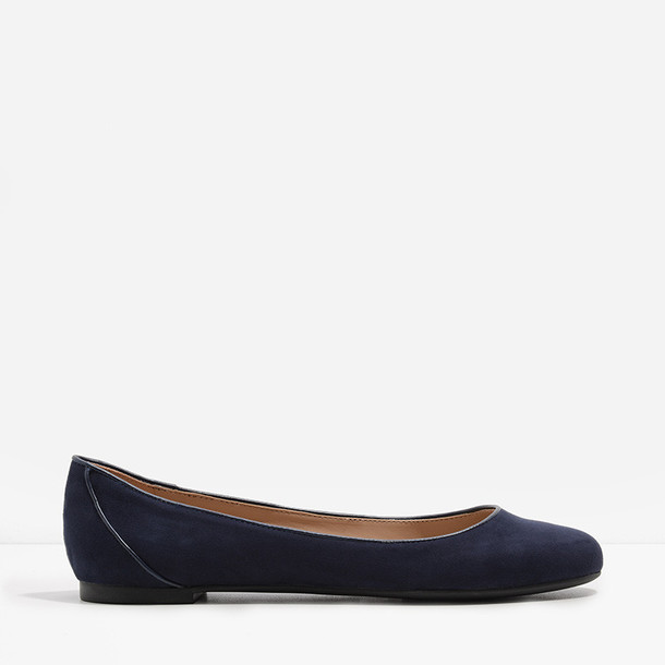 flats navy shoes