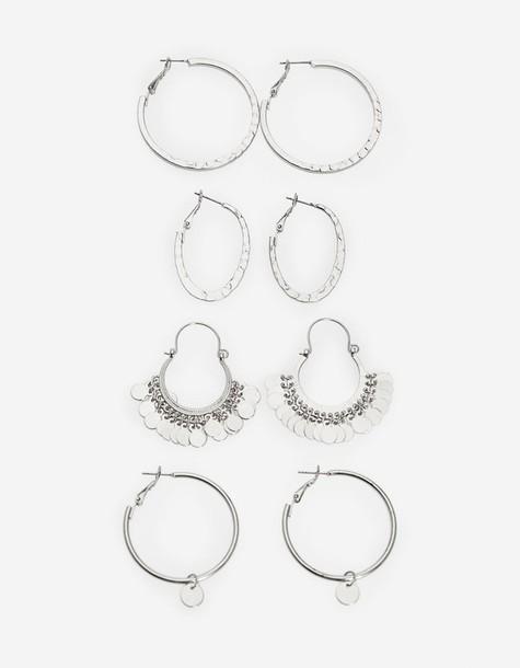 Stradivarius grey jewels