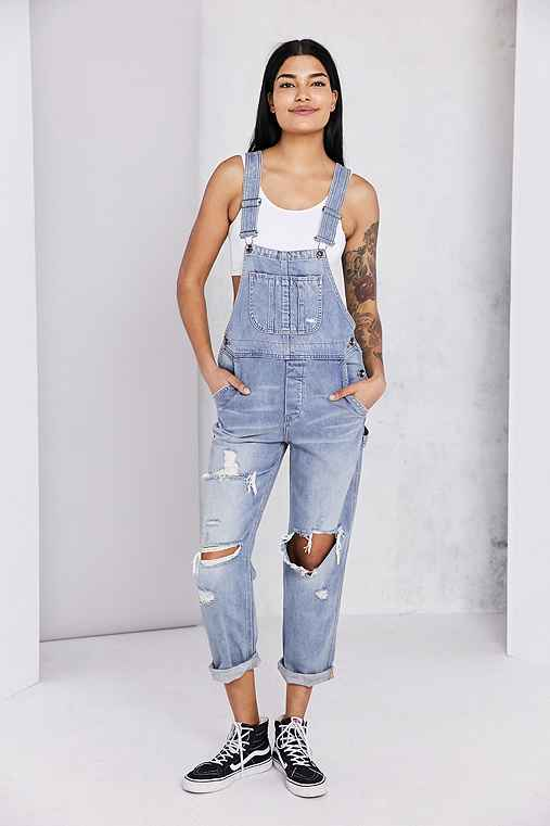 BDG Ryder Boyfriend Overall - Vintage Slash - Urban Outfitters