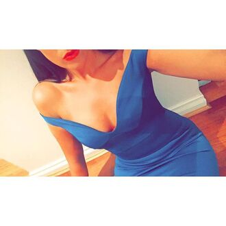 dress shoulder dress blue dress party dress evening dress off the shoulder dress