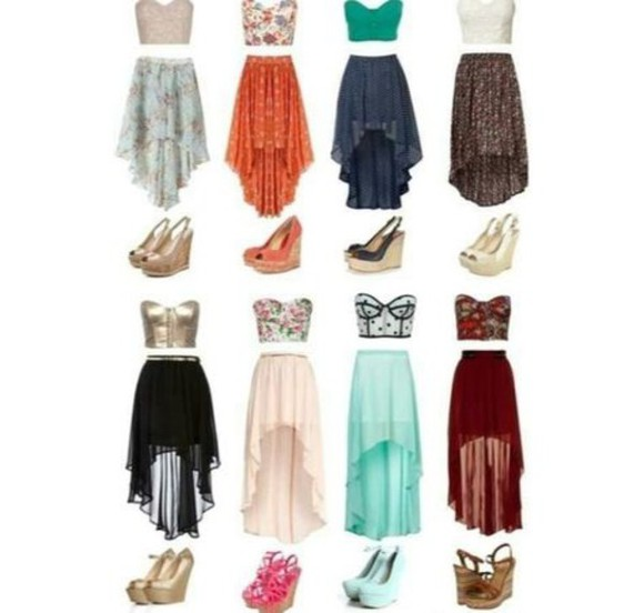 waaaaaaaaaaaaaaaaaaant must have lovely skirt hi low skirt need it please have to have want want want shoes