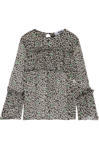 blouse chiffon blouse chiffon black silk top