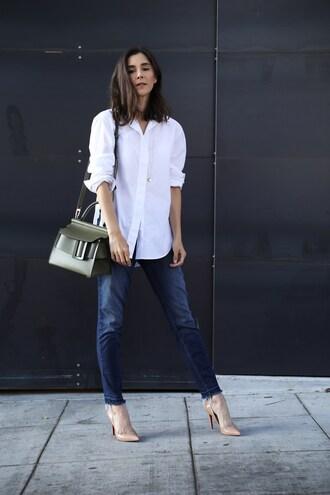 inspades blogger jeans shirt shoes jewels