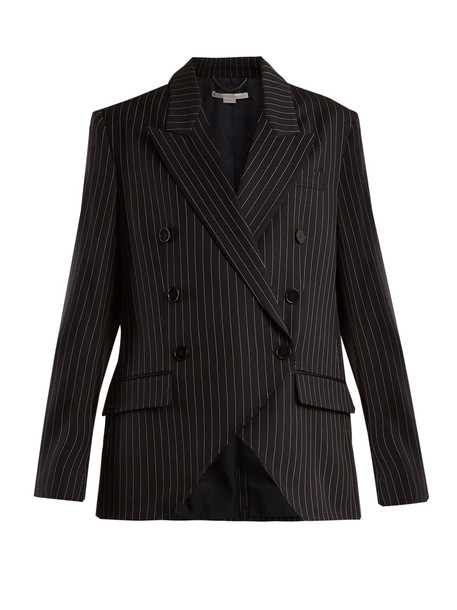 jacket wool navy