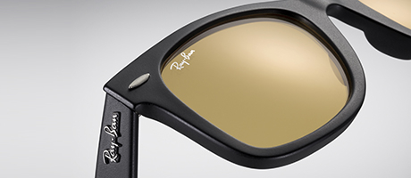 Look who's looking at this new Ray-Ban original wayfarer sunglasses