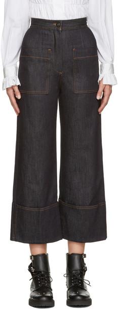 Fendi jeans navy
