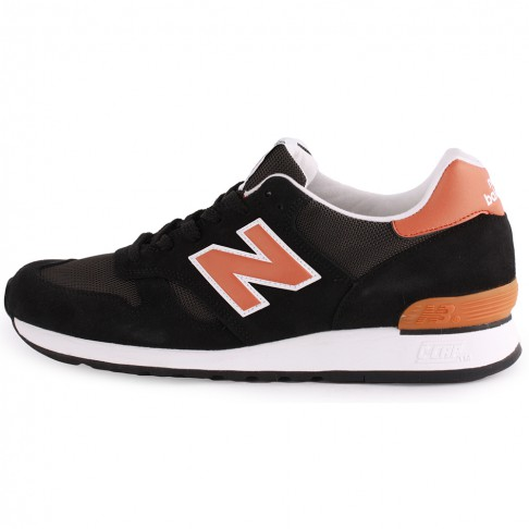 New balance camping 670 made in england mens trainers in black