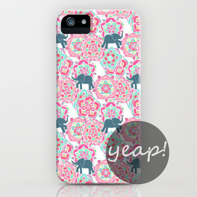 Elephant print iphone case cover (iphone 5/ iphone 6) – glamzelle