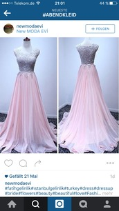 dress,please let me knw,engagement party dress,pastel pink,prom dress,rose,maxi dress,need this!!!,seriously,wedding